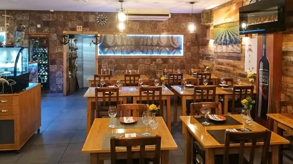 Sala - Restaurante AL-RIA, Faro