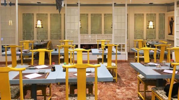 Sala del ristorante - Roppongi, Rome