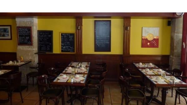Salle du restaurant - Satory, Versailles