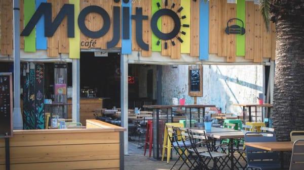 Terrasse - El Mojito Cafe, Hyères