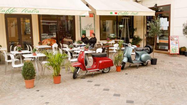 Devanture et terrasse - Caffe Italia, Nogent-sur-Marne