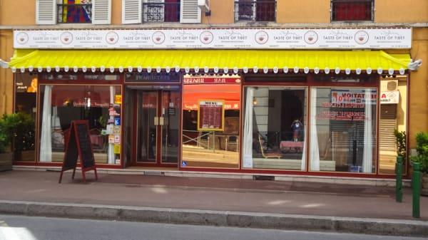 Devanture - Taste of Tibet, Malakoff