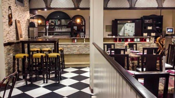 Vista sala - Pizzeria Dalia