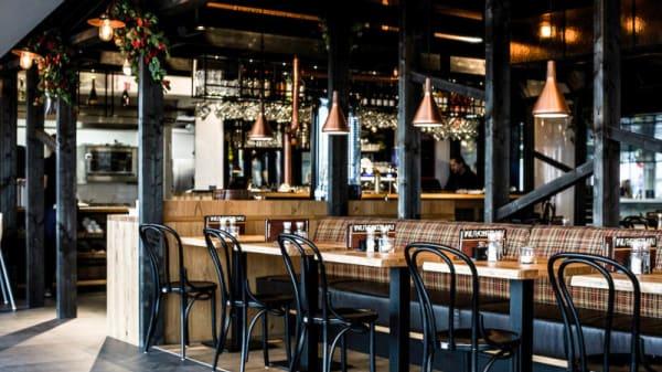 Het restaurant - Wurst & Schnitzelhaus Centraal (WuSH), Amsterdam