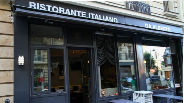 Restaurant Da Alberto, Paris