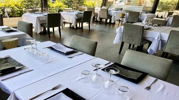 Vista sala - L'Acquario Restaurant Deluxe, Palermo