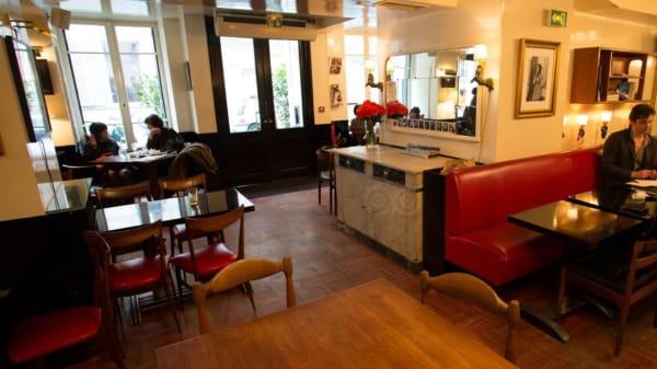 hotel amour - Restaurant Hôtel Amour, Paris