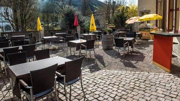 Terrasse - Café de la Marionnette, Fribourg