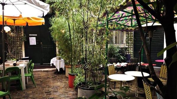 terrasse - Derrière, Paris