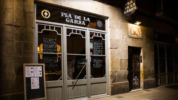 Vista entrada - Pla de la Garsa, Barcelona