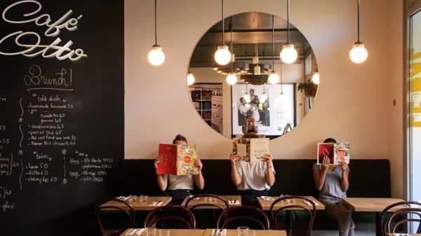 Salle du restaurant - Le Bal Cafe Otto, Paris