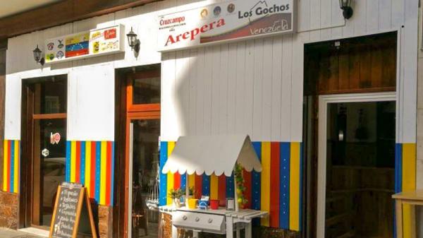 Entrada - Arepera Los Gochos, Alicante