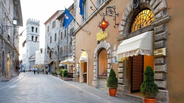 Entrata - Hostaria La Tradizione, Assisi