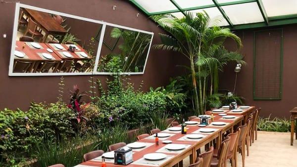 Vista da sala - Bar e Restaurante Varânda Pôr do Sol, São Paulo