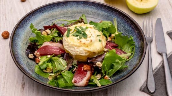 Salade Gésiers Chèvre - Bistro M
