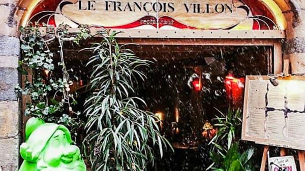 Entrée - Le François Villon, Lyon