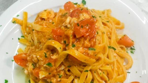 Primo piatto - L'Officina del Pesce di Pomezia, Pomezia