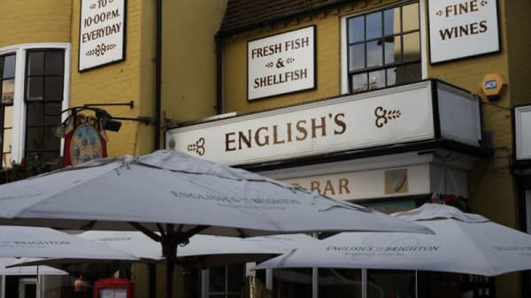Restaurant's front - English's of Brighton, Brighton