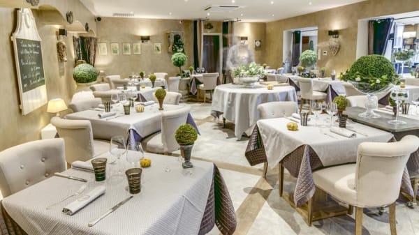 Salle de restaurant - La Gentilhordière, Limonest