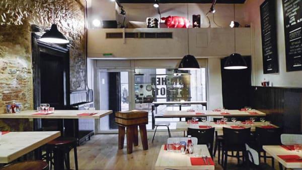 Vue intérieur - Butcher, Lyon