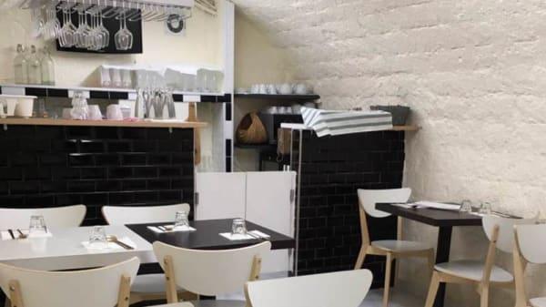 Salon du restaurant - Doma, Paris