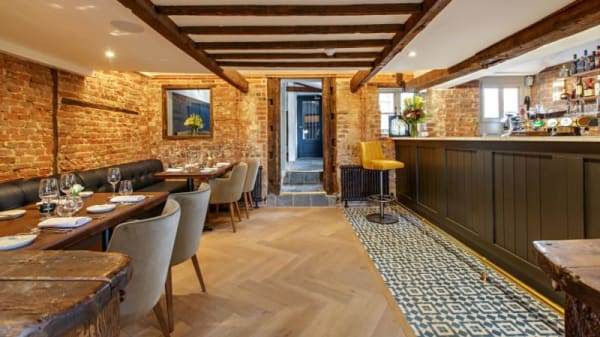 Restaurant at The Ingham Swan, Norwich