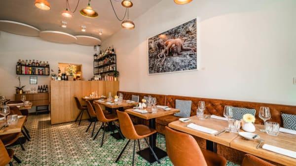 salle - A'sur restaurant, Anvers