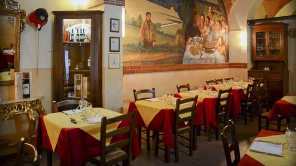 vista sala 1 - La Maggiolata, Lucignano