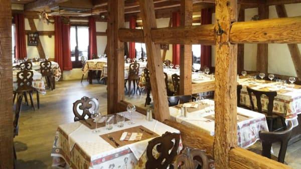 Vue de la salle - Auberge du Moulin, Plobsheim