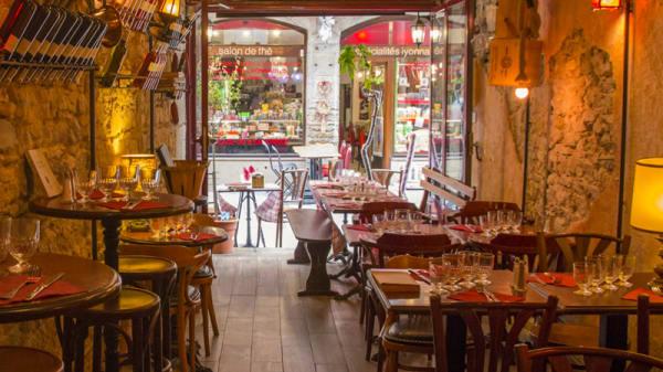 Salle du restaurant - Au Comptoir les Gones, Lyon