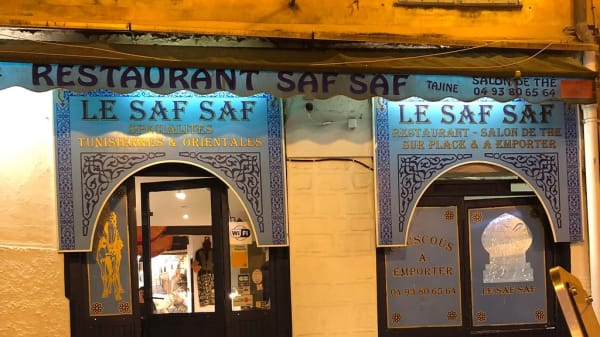 salle - Le saf Saf, Nice