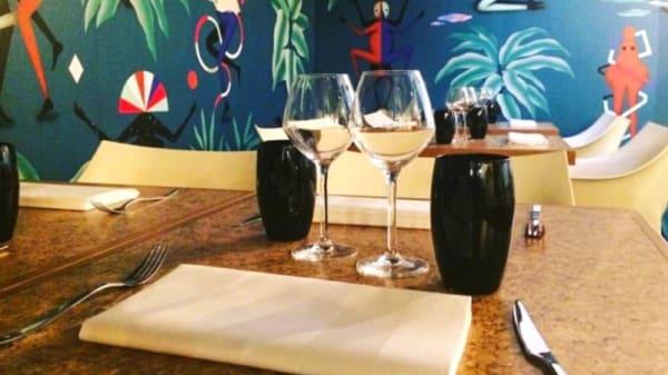 Tables dressées - Origine/ Amour - Boire & Manger, Etterbeek