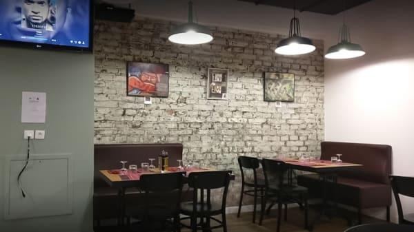 Salle du restaurant - Les papillons d'Issy, Issy-les-Moulineaux