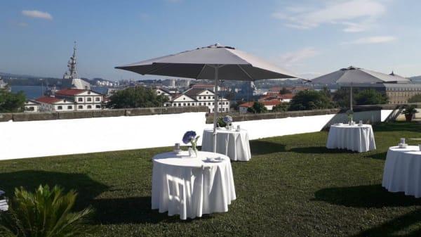 Terraza - Restaurante Enxebre - Parador de Ferrol, Ferrol