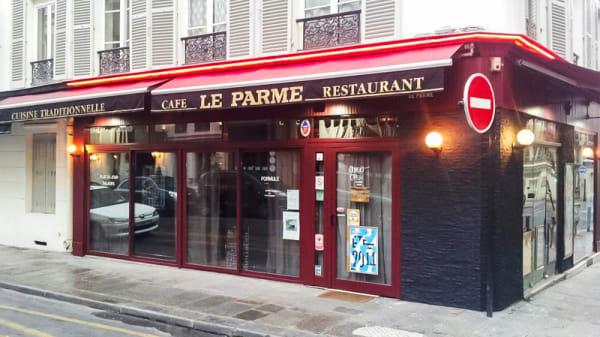 Devanture - Le Parme, Paris