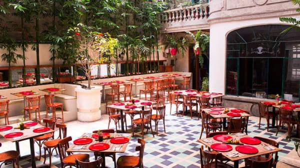 Vista de la sala - Broka Bistrot, Ciudad de México
