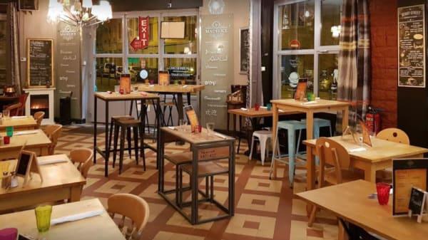 Salle du restaurant - Madelice burger, Lyon