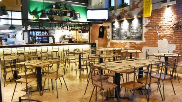 Vista della sala - LOGG Brewhouse, Cisternino
