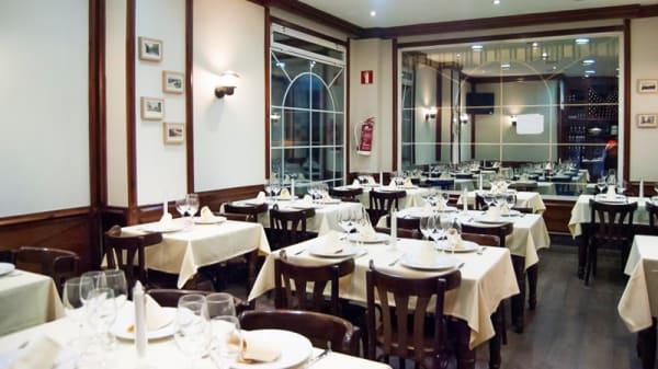 Vista sala - La Cuchara de Mariana, Madrid