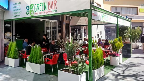 Vista terraza - Green Bar, Marbella