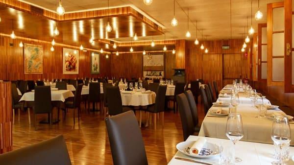 Vista sala - Ágape Liceo Restaurante, Ourense