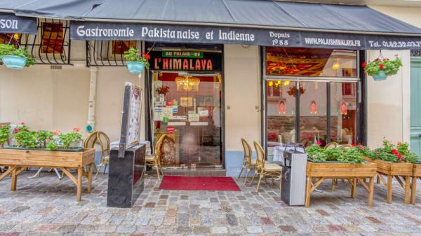 Entrée - Au Palais de l'Himalaya, Paris