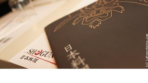Zoom sur la carte - Shogun Sushi, Levallois-Perret
