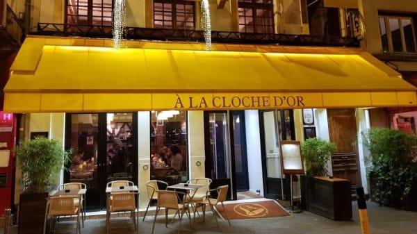 façade - A la Cloche d'Or, Paris