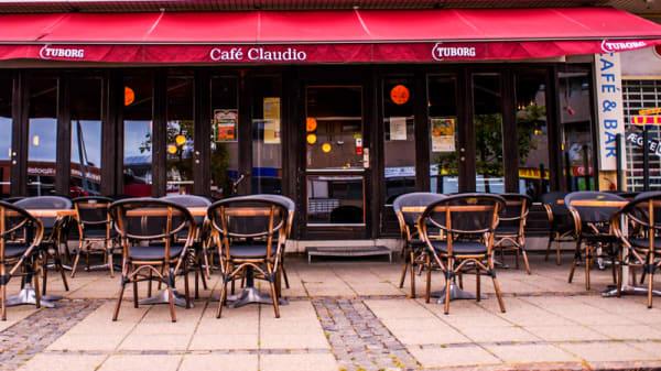 Ingang - Cafe Claudio, Hvidovre