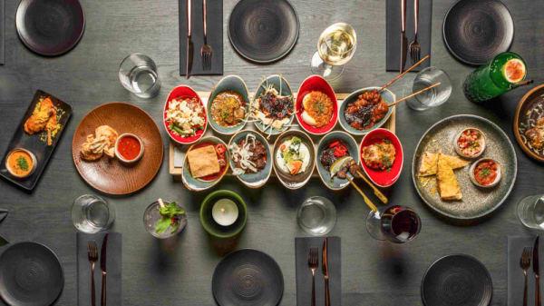 Ricetable and snacks - Bistrobar Indonesia, Haarlem