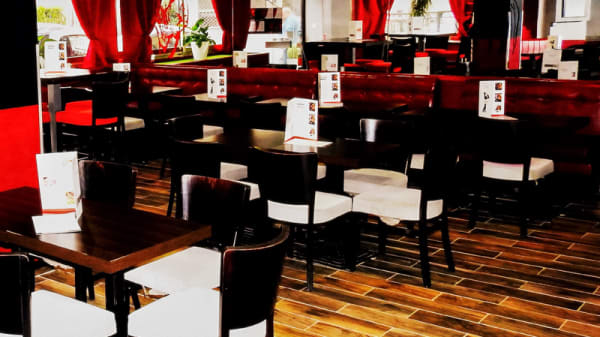 Salle du restaurant - Le Chicago, Nice