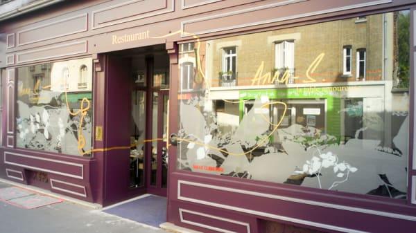 Le restaurant - Anna-S La Table Amoureuse, Reims