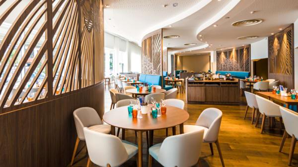 Vue de la salle - La Table Euromed  - Hôtel Golden Tulip, Marseille