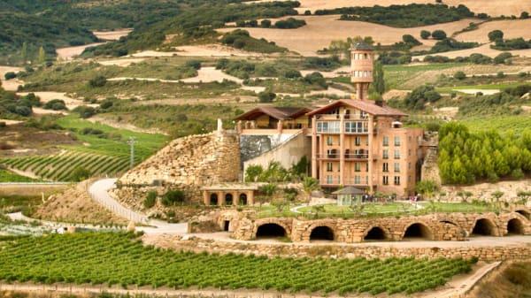 Vista exteriores - Martin Cendoya - Hotel Eguren Ugarte, Paganos